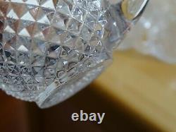 1 Ancien Service A Liqueur Cristal Baccarat Modele Diamant Biseaux