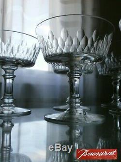 6 Anciennes Coupes A Champagne En Cristal Baccarat Catalogue 1916