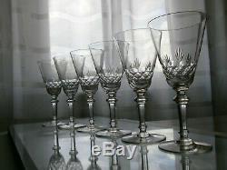 6 Anciens Verres A Eau En Cristal Baccarat Catalogue 1916