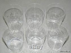 anciennes grand 6 verres gobelets cristal baccarat nancy sign e crystal n 2. Black Bedroom Furniture Sets. Home Design Ideas