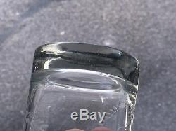 Ancien Gobelet Verre Normand fin XVIIIème Gravé Monogrammé Antique GLASS 18TH
