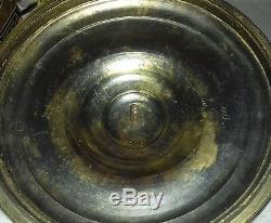 Ancien Pot Sceau Legras A Biscuit En Verre Emaillé Art Nouveau