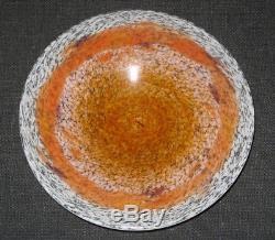 Ancien Schneider Charder Le verre français Coupe Jades 1925 1928 Art Déco Plat