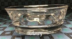 Ancien Service Chic Composé Dun Saladier & 8 Bols En Cristal De Sèvres
