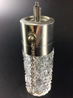 Ancien Vaporisateur Parfum Cristal XIX Saint-louis Baccarat Perfume