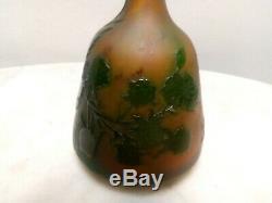 Ancien Vase Émile Gallé Art nouveau