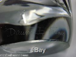Ancien Vase En Cristal Daum France (5 Kg)