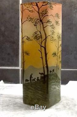 Ancien Vase Legras Travaille À L'acide 1900/1910