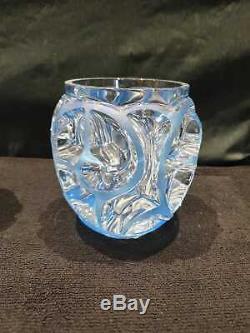 Ancien Vase, Paire De De Vase, Verrerie, Modele Tourbillon, Vase Lalique, France
