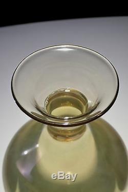 Ancien Vase Venini Murano 32 Cms