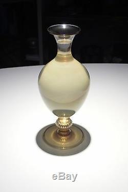 Ancien Vase Venini Murano 32 Cms Vittorio Zecchin