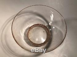 Ancien bol ou rince doigt verrerie RENE LALIQUE époque art déco