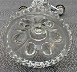 Ancien chandelier en verre fin 19 ème début 20 ème