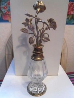 Ancien flacon Parfum Diorissimo par Baccarat