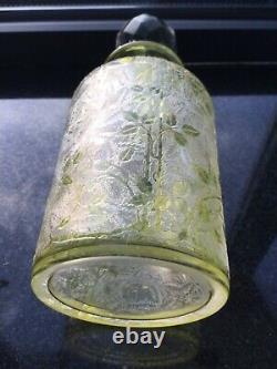 Ancien flacon cristal BACCARAT églantier