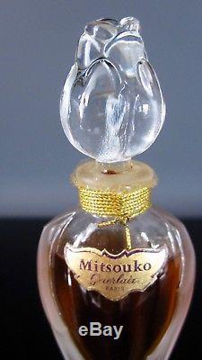 Ancien flacon de Baccarat. Style Viard, Lalique. Parfum