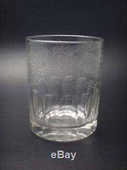 Ancien grande verre Normand XIXeme 1878