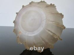 Ancien vase René Lalique modèle Dentele. R Lalique France