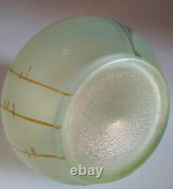 Ancien vase miniature verre irisé Loetz Arcadia Vers 1890/1900 TBE N°2