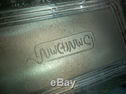 Ancienne Boite A Biscuits En Cristal Art Deco Signee