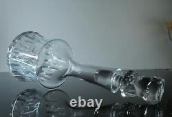 Ancienne Carafe A Vin Ou Whisky Cristal Souffle Taille Val St Lambert Art Deco
