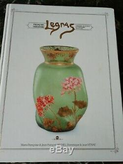 Ancienne Carafe Emaillee Legras