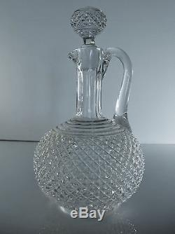 Ancienne Carafe En Cristal De Baccarat Catalogue 1916 Signe