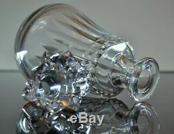 Ancienne Carafe En Cristal Taille Modelé Piccadilly Baccarat Signee