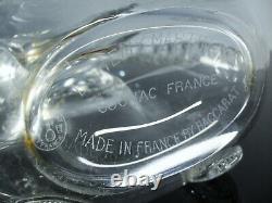 Ancienne Carafe Whisky Cognac Cristal Modelé Remy Martin Baccarat Signe