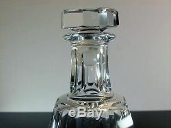 Ancienne Carafe Whisky En Cristal Massif Taille Talleyrand Baccarat Signe