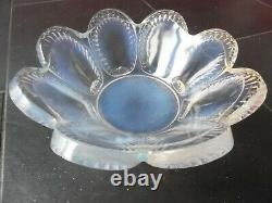 Ancienne Coupe A Fruit Lalique Verre Opalescent Art Déco Sabino Ettling Verlys