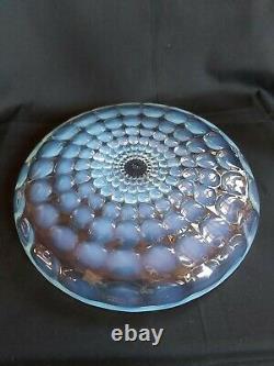 Ancienne Coupe centre de table opalescente verre cristal signée Lalique France