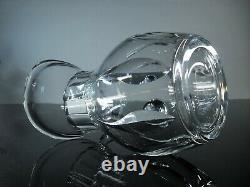 Ancienne Cruche Broc Cristal Massif Taille Modelé Cerdagne St Louis Signe