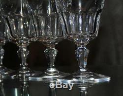 Ancienne Grand 6 Verres En Cristal De Baccarat Signe Offre Disponible