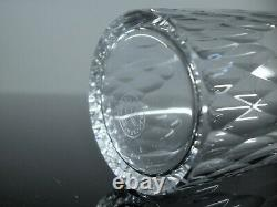 Ancienne Service 6 Gobelets En Cristal Taille Modele Richelieu Baccarat Signe