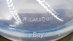 Ancienne boite René Lalique pour Houbigan. Signée R Lalique