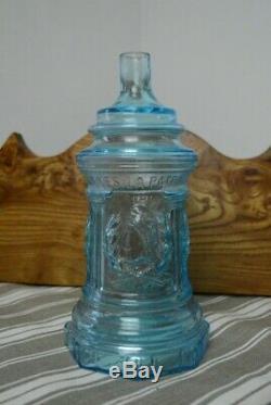 Ancienne bouteille à sujet flacon ancien Panthéon Paris