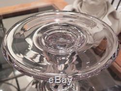 Ancienne carafe à décanter rince Raisin en verre ciselé XIXe