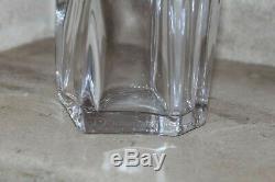 Ancienne carafe cristal DAUM France (excellent état) hauteur 29 cm