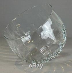 Ancienne cloche à fromage en cristal 19e-20e fait main (non moulée) 2,4kg