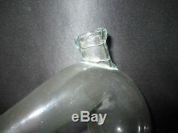 Ancienne cornue de laboratoire en verre soufflé fin XVIII ème ou début XIX ème