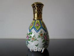 Ancienne lampe Berger Gabriel Fourmaintraux. Lamp. Signée Desvres France