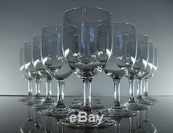 Anciennes 12 Verres En Cristal De Baccarat Modele Balon Catalogue 1916