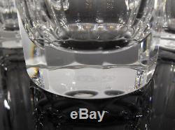 Anciennes 6 Gobelet A Eau Orangeade Cristal Taille Baccarat Harcourt Talleyrand