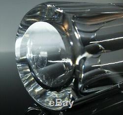 Anciennes 6 Gobelets A Eau Orangeade Cristal Taille Modelé Caton St Louis Signe
