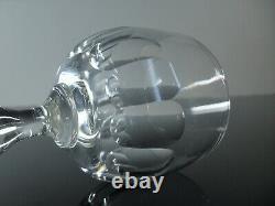 Anciennes 6 Verres A Eau Vin Verre Souffle Modele Balon Gondole Baccarat 1906