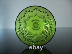 Anciennes Grand 6 Verres A Vin Cristal Couleur Modele Moliere Corneille Baccarat