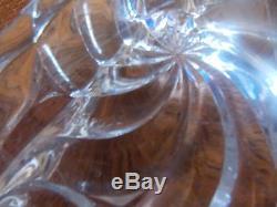BACARAT ANCIEN MAGNIFIQUE dessous de plat en cristal SIGNE