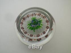 BACCARAT Ancien Sulfure Presse Papier 19TH C Paperweight