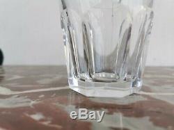 BACCARAT Ancien VERRE a WHISKY Modele HARCOURT Cristal Service Crystal Verres